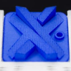 Dyed Blue Nylon SLS 3D Printing
