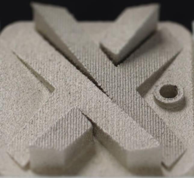 Nickel plated Nylon SLS 3D Printing