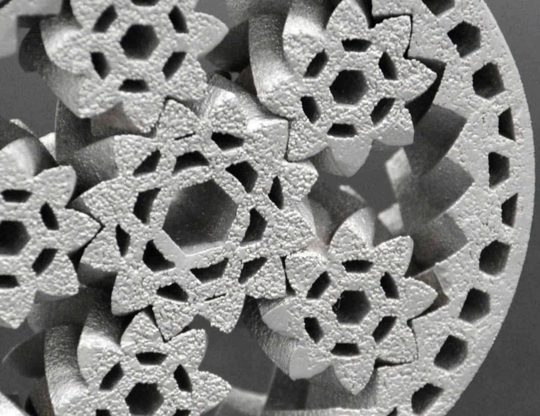 Metal 3D printing surface finish