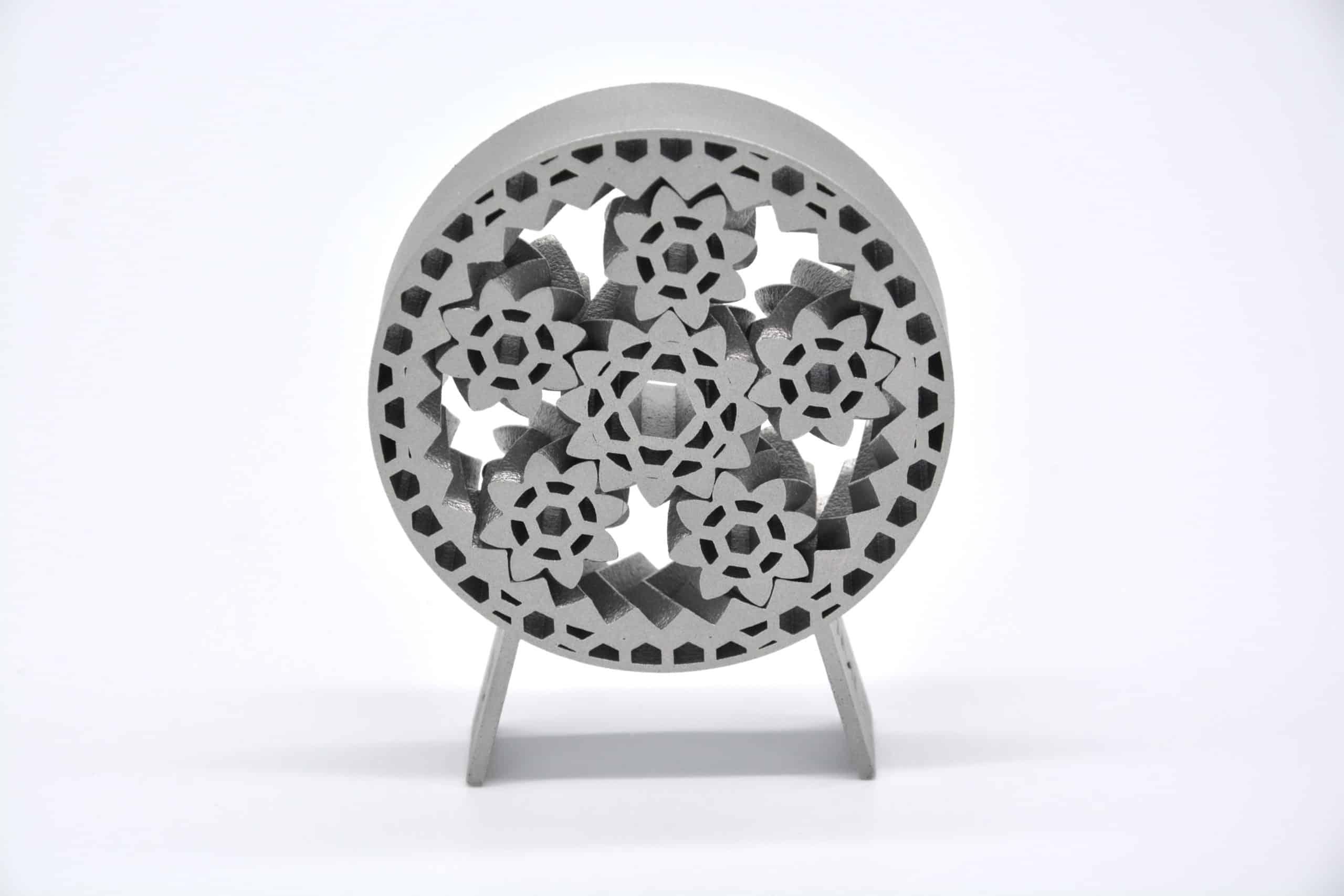 DMLS 3D printed aluminium part