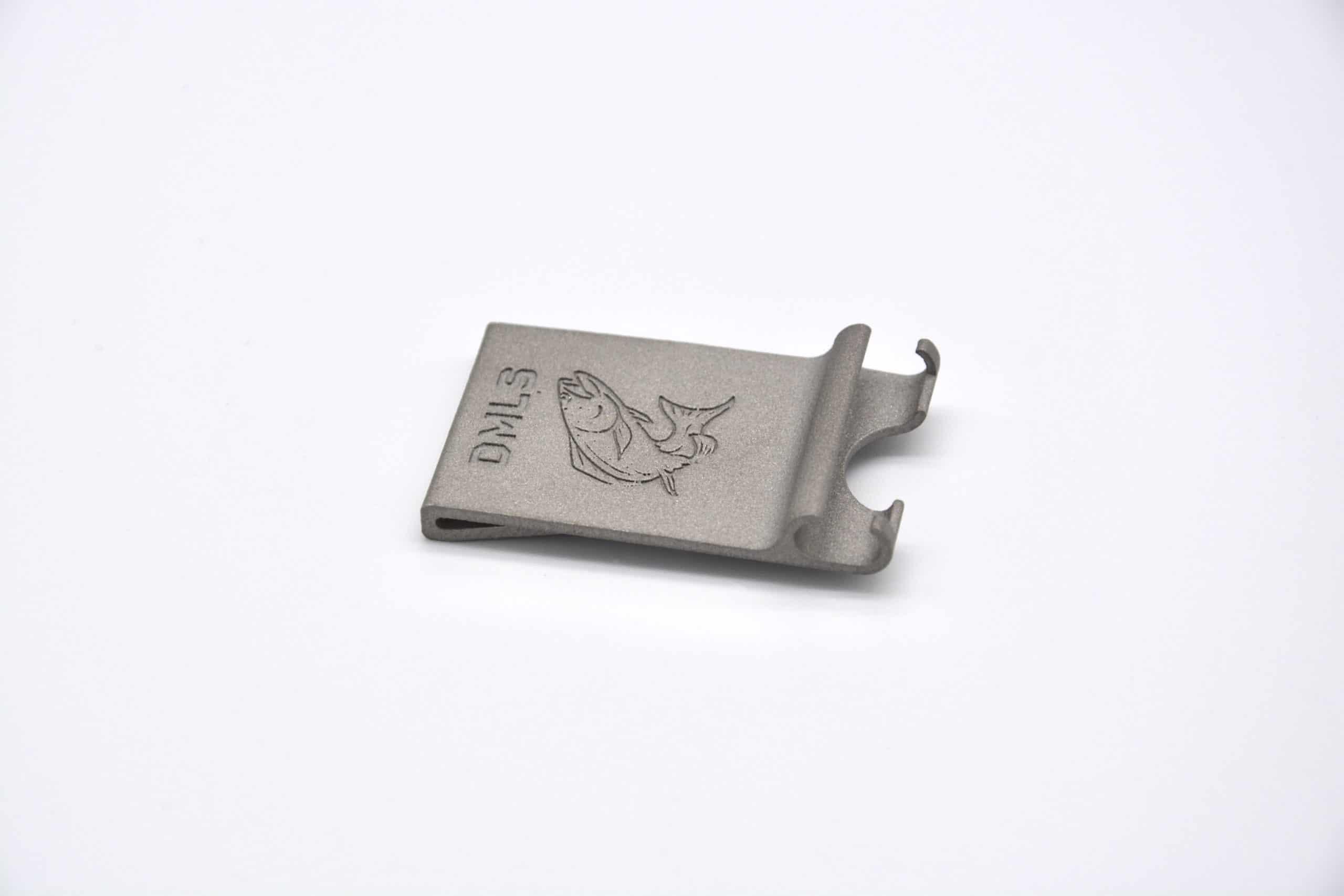 DMLS 3D printed steel part