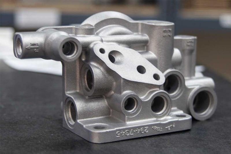 3D printed part via DMLS