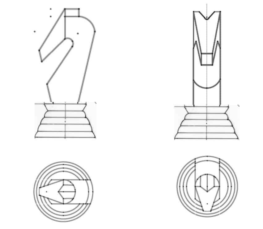 Designs for CNC parts