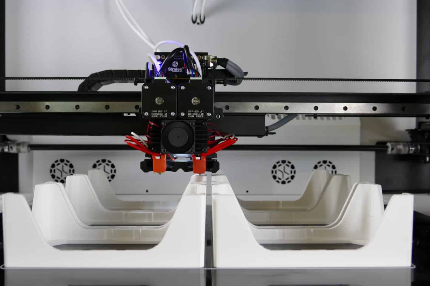 Professional production of parts on Strateo 3D 3D printer